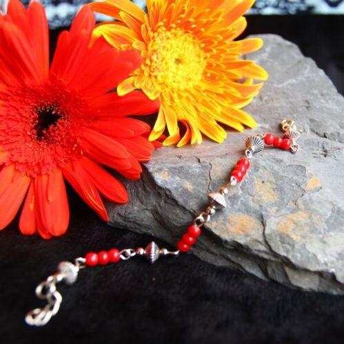 Joli Bracelet Tibétain en Argent Tibétain