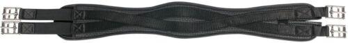 Harry/'s Horse Sattelgurt Neoprengurt Neopren schwarz anatomisch elastisch