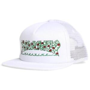 d19b6221849ea Thrasher ROSES MESH White Green Red Black Rose Vine Logo (D) Men s ...
