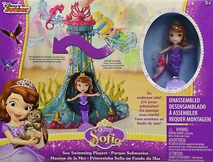 NEW-Disney-Sofia-The-First-Sea-Swimming-Toy-Gift-Playset