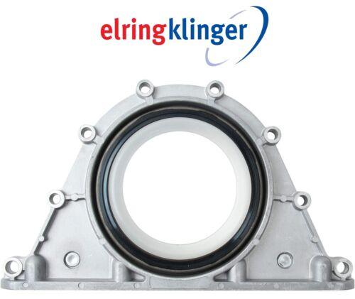 For BMW E60 E65 545i 550i 645Ci Rear Crankshaft Seal w// Housing Elring Klinger
