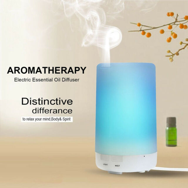 LED Ultrasonic Aroma Essential Diffuser Air Humidifier Purifier Aromatherapy CA