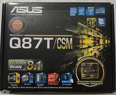 ASUS Q87T/CSM ACCESSORIES ONLY! Motherboard is NOT INCLUDED => SEE LISTING!    eBay