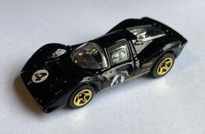 2012 HotWheels FERRARI P4 LM RACE CAR NERO 5 Pack Release! Nuovo di zecca! molto rara!