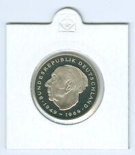 BRD  2 DM Theodor Heuss 1974 DFGJ - 1987 DFGJ  PP  (56 Münzen!)