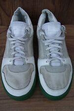 G-star Raw Originals Hombre Cuero Blanco Zapatillas Sneakers Size UK 9 EUR 43
