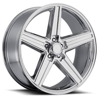 1 NEW IROC Chrome 22X9.5 Wheel 5x120 10 Offset 248T Rim FREE SHIPPING