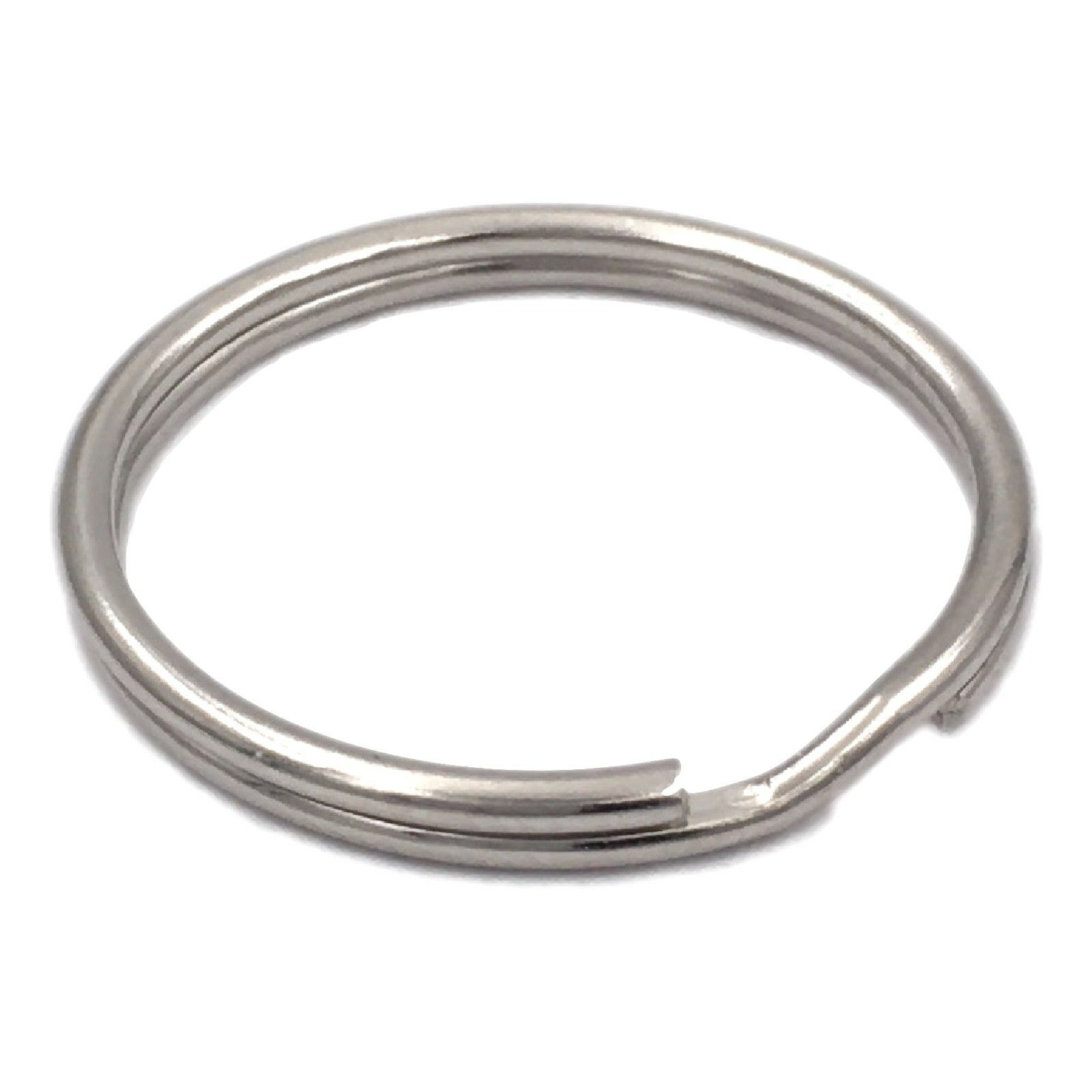 Schlüsselringe 10-50 mm Schlüsselring Stahl glänzend Edelstahl NEU Ring