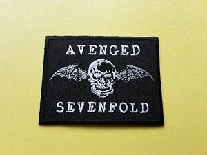 Avenged-Sevenfold-Patch-Embroidered-Iron-On-Or-Sew-On-Badge