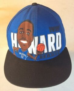 16a73de80e5 Image is loading Vintage-Orlando-Magic-Dwight-Howard-Caricature-New-Era-