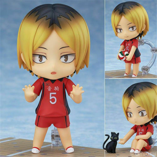 Nendoroid 605 Haikyuu 2 Haikyu Kenma Kozume PVC Action Figure Figurine