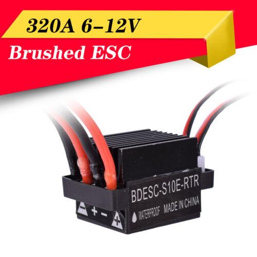 6-12V 320A ESC+Brushed Motor Speed Controller For RC Ship Boat R//C Hobby Toys