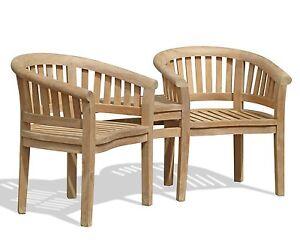 Ordinaire Image Is Loading Apollo ASSEMBLED Teak Outdoor Love Seat Garden Patio