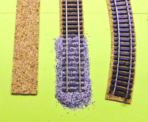 TT stabiler Kork Ideale Gleisunterlage als Gleisbettung 0,40 €//lfd.M ---