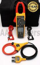 Fluke 376 True Rms 1000a Acdc Clamp Meter With Iflex I2500 18