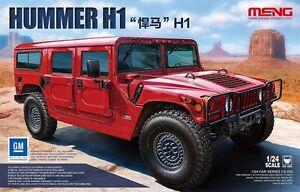 Meng Hummer H1 Civilian 1/24 truck car model kit new CS002