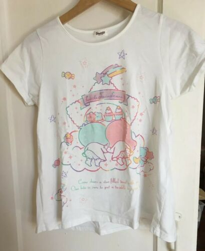 Sanrio Little Twin Stars Tshirt Kiki Lala Japan Im