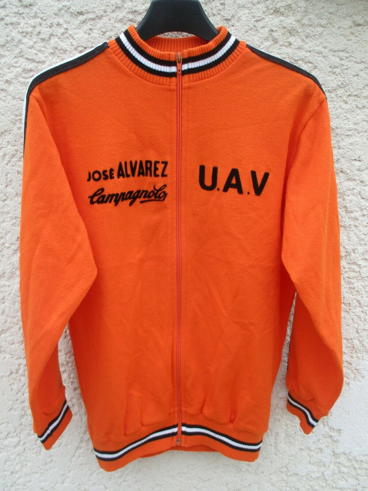 Veste cycliste José ALVAREZ CAMPAGNOLO vintage Vic-Fezensac jacket jacke giacca
