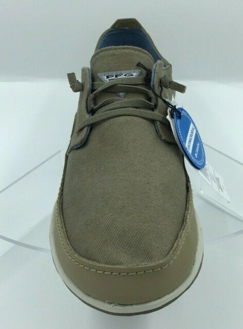 khaki canvas shoes