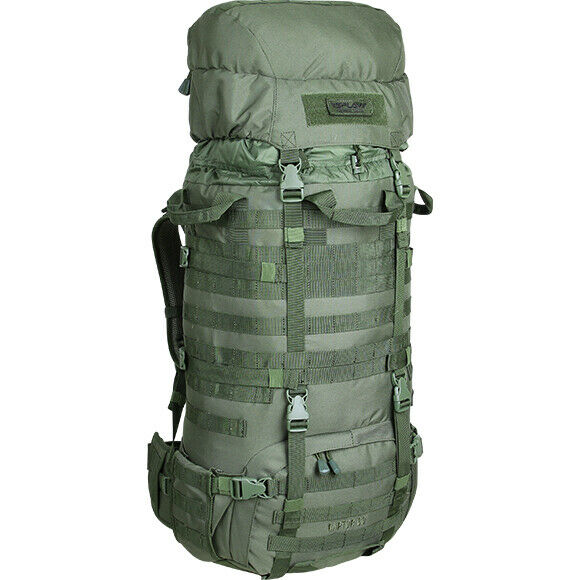NWT Military all'aperto Travel Molle Pack Backpack 60L RAPTOR campeggio Russia SPLAV
