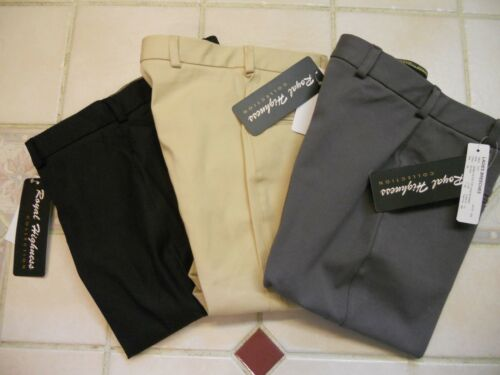 Black Men/'s Royal Highness Knee Patch Breeches//Gray and Beige// Sizes 38-44