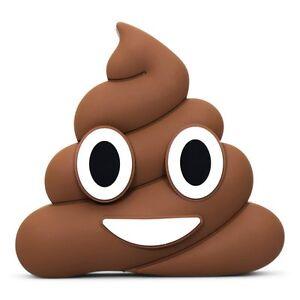 Poop Emoji Power Bank 2000mAh - High Quality Portable Travel Charger