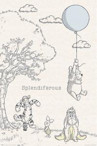 Winnie-The-Pooh-Poster-Arte-24x36-3461