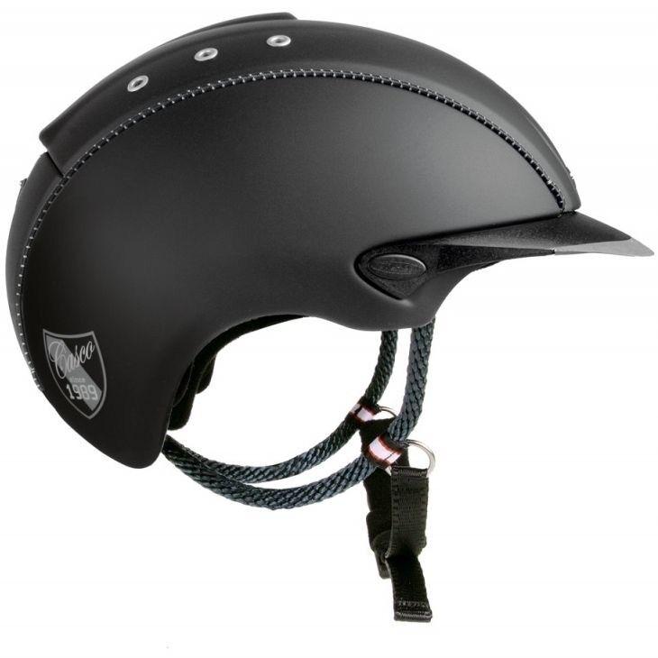 Casco Mistrall  Schwarz Titan REITHELM Helm by Crownclub NEU S  | Outlet  | Förderung  | Ermäßigung