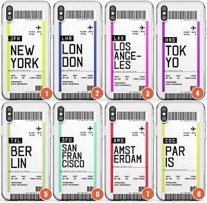 Personnalise-Boarding-pass-Design-SLIM-Etui-de-telephone-pour-iPhone-Personnalise-de-voyage