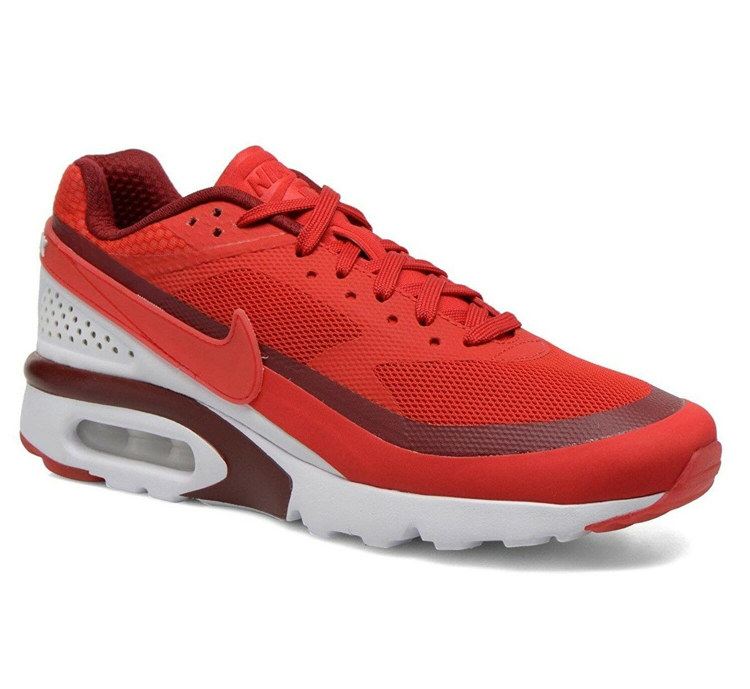 Nike Air Max BW Ultra University Red Bright Crimson 819475-616 Mens Size 9.5