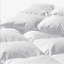 100-Egyptian-Cotton-1200-TC-Luxury-Comforter-Siberian-Goose-Down-White-amp-Gray thumbnail 8