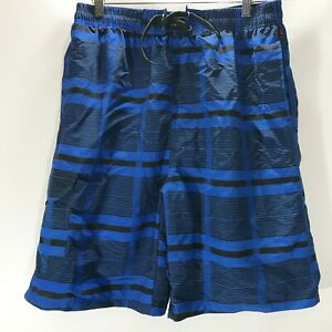 NBN-Gear-Board-Shorts-Swim-Wear-Blue-Print-Mesh-Lined-Mens-Size-XL-NEW