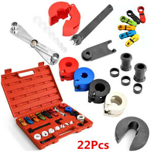 Details about 22Pcs Car Air Conditioning Fuel Line Disconnect Tool+Rubber  Band Set For Ford GM