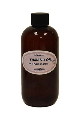 8 OZ TAMANU / FORAHA OIL  PURE  FRESH COLD PRESSED