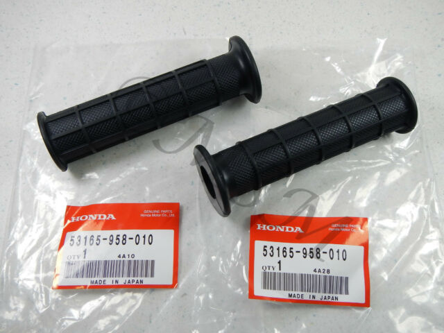 01-08 HONDA TRX300EX FOURTRAX 300EX NEW OEM GENUINE HANDLEBAR GRIP SET 958
