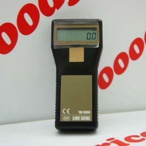 Line-Seiki-Tachometer-TM-5000K-Kit-Set-Non-contact-amp-contact-Measurment-NIB