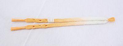 Bello 羽織紐 Haori Himo Pour Haori 181 - Made In Japan In Vendita