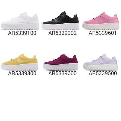 Nike Wmns AF1 Sage Low Air Force 1 Wedge Bold Platform Womens Shoes Pick 1   eBay