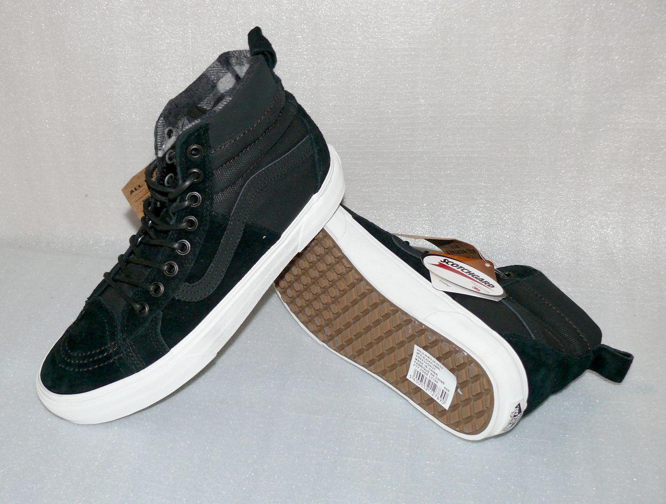 Vans SK8 HI 46 MTE DX Rauleder Herren Schuhe Freizeit Boots 42 US9 Black Allwett