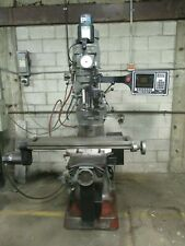 Used Alliant 2 Axis Cnc Prototrak Knee Mill With3rd Axis Readout Amp Accessoriesum