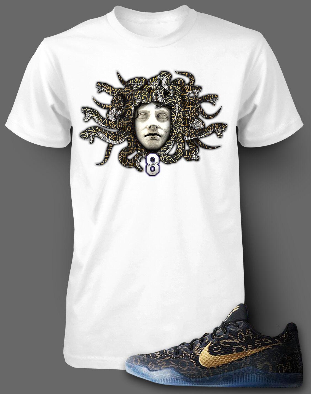 Tee Shirt to Match Kobe 11 Mamba Day Shoe Graphic Mens T Shirt Small 10XL