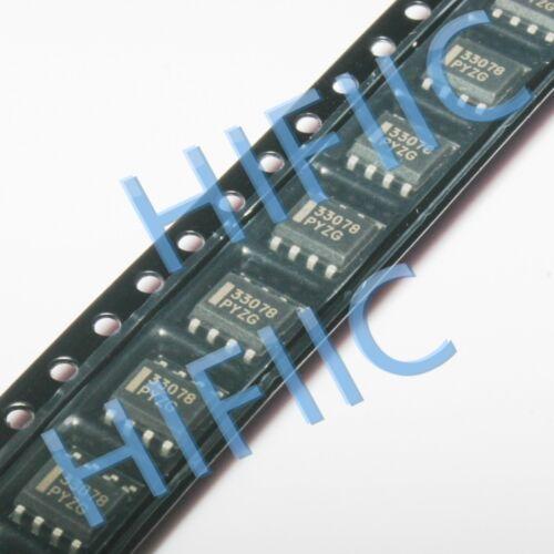 10PCS MC33078DR 33078 Low Noise Dual Operational Amplifiers SOP8