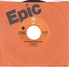 LABELLE 45  What Can I Do For You? / Nightbird - NM