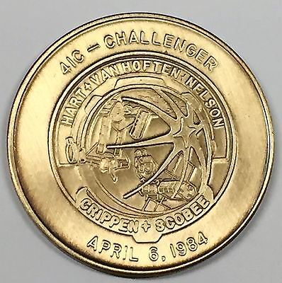 MEDAL STS-61-A N061-A       NASA  SPACE  SHUTTLE  COIN CHALLENGER