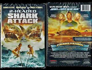 Image Is Loading 2 Headed Shark Nd New Dvd