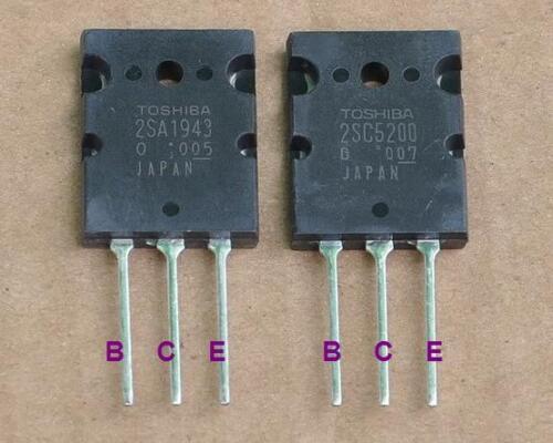 Transistor 2sa1943//2sc5200 toshiba ORIGINAL LES 2
