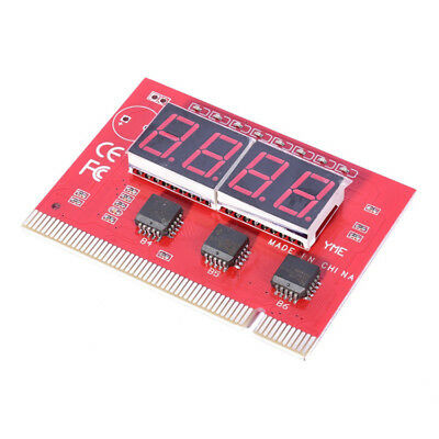 1*LED 4 Digit Analysis Diagnostic Tester POST Card PCI PC Analyzer Motherboard