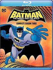 BATMAN : THE BRAVE & THE BOLD SEASON 3 - BLU RAY  - Region free