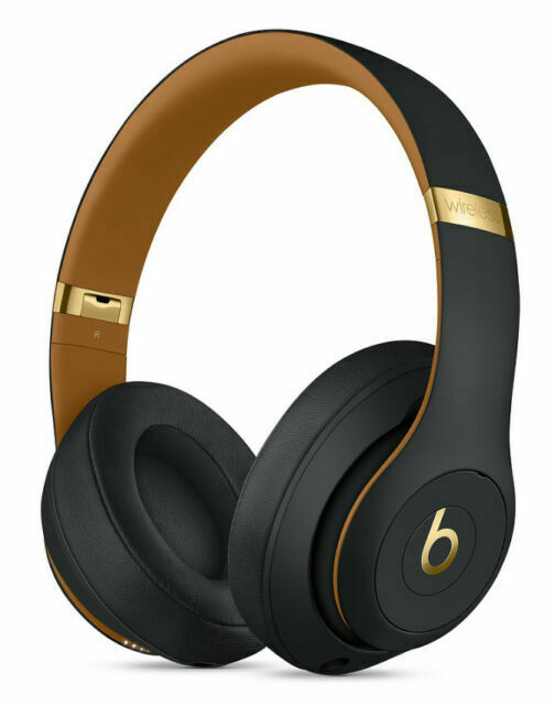 Beats By Dr Dre Studio3 Wireless Headphones The Beats Skyline Collection Midnight Black For Sale Online Ebay