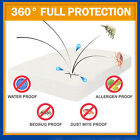 QUEEN Bed Bug PROTECTOR MICRO Polyester FABRIC Zippered MATTRESS or Pillow COVER